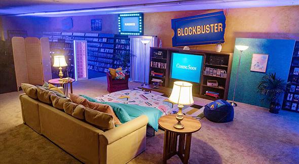 בלוקבסטר אורגון Airbnb 2, צילום: Blockbuster