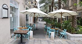 מסעדה ריקה ב חיפה קורונה, צילום: אלעד גרשגורן