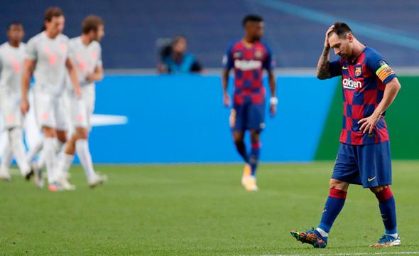ליאו מסי, במשחק אתמול, צילום: אי אף פי