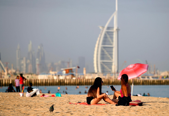 Tourism is among the sectors the UAE is trying to promote in an effort to diversify its economy. Photo: AFP