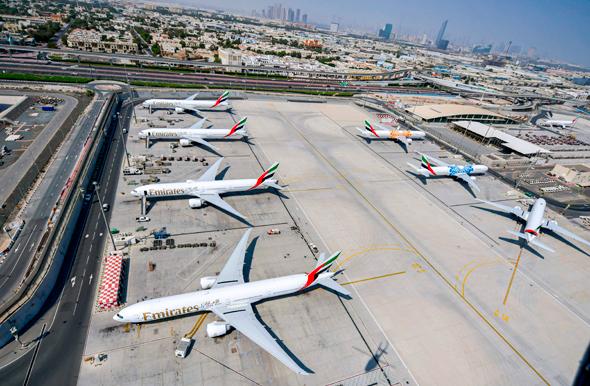 The Dubai International Airport. Photo: AFP