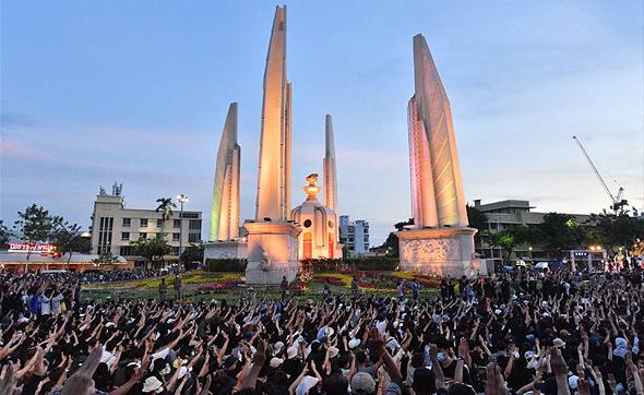 ההפגנה הגדולה בתאילנד מאז ההפיכה הצבאית ב-2014, צילום: איי אף פי