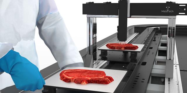 3D printing a steak