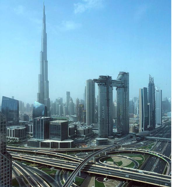 Dubai in the UAE. Photo: Courtesy
