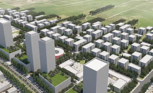 הדמיית תוכנית רחובות מזרח, הדמיה: מנדי רוזנפלד אדריכלים ודירה להשכיר