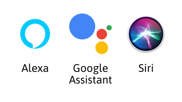 העוזרות הקוליות אלקסה גוגל אסיסטנט ו סירי