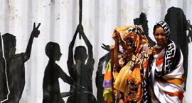 אזרחים סודנים בח'רטום, צילום: רויטרס