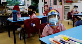 כיתת בית ספר בסינגפור, צילום: רויטרס