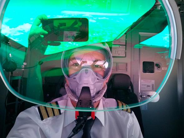 Stav Nemirovsky in his pilot