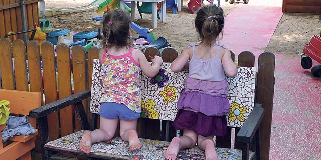 גן ילדים בצל הקורונה, צילום: יריב כץ