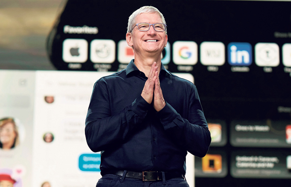 Apple CEO Tim Cook. Photo: API