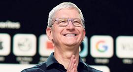 """טים קוק מנכ""""ל אפל יוני 2020, צילום: אי פי איי"""