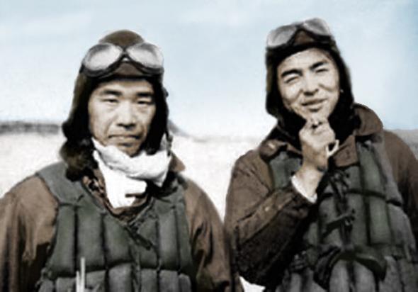 סאקאי (משמאל) ונישיזאווה, צילום: warhistoryonline