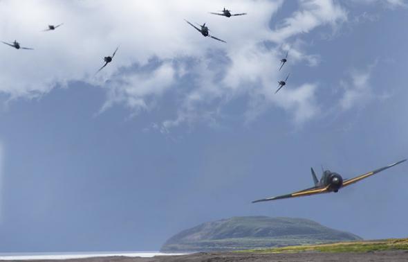 הלקטים רודפים אחר זירו (אילוסטרציה), צילום: worldwarwings+startandstripes+pngimg