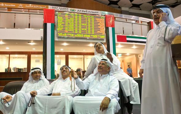 Abi Dhabi's Stock Exchange. Photo: Bloomberg