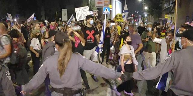 30 נעצרו ושלושה שוטרים נפצעו בעימותים בירושלים