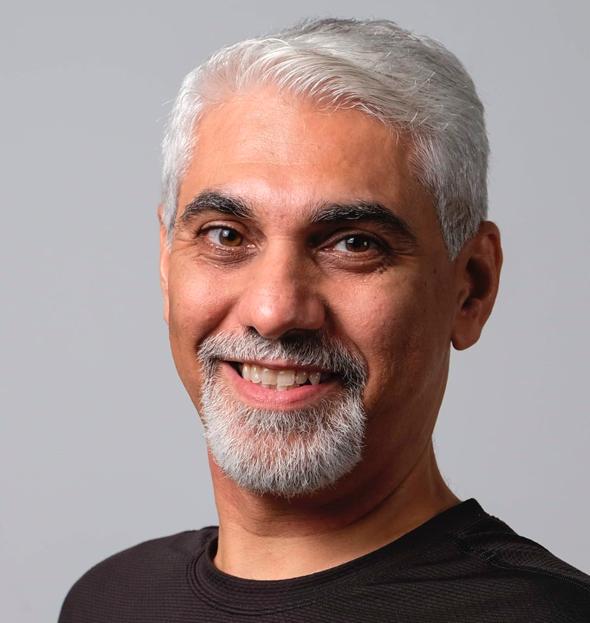 Vijay Tirathrai, head of Techstars hub in Abu Dhabi. Photo: Techstars Hub71