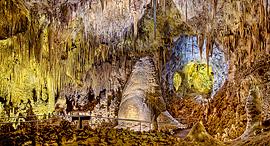 פוטו מערות ארצות הברית Carlsbad Caverns National Park, צילום: שאטרסטוק