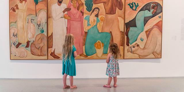 אמנות בסוף הקיץ: תערוכות ופעילויות לילדים
