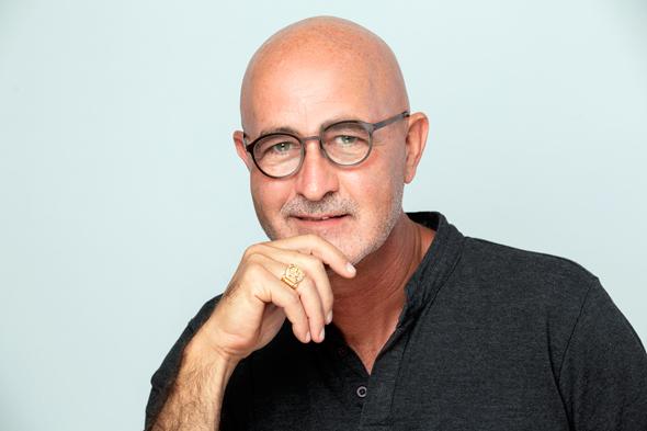 האמן דניאל טולדנו , צילום: ינאי יחיאלי