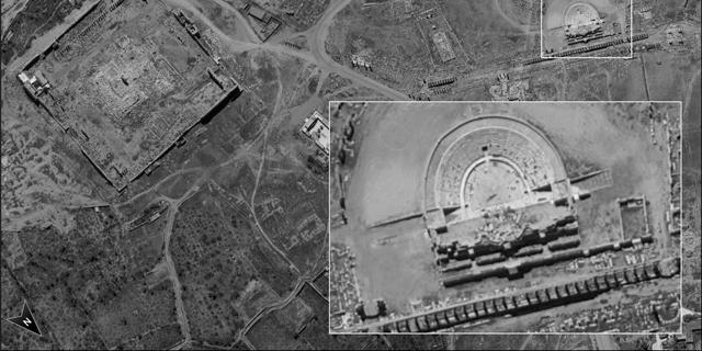 """צפו בתמונות: זה מה שרואה לוויין הריגול החדש של צה""""ל"""