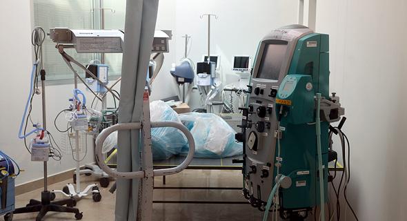 מחלקת טיפול נמרץ ב שיבא קורונה 18.8.20, צילום: יריב כץ