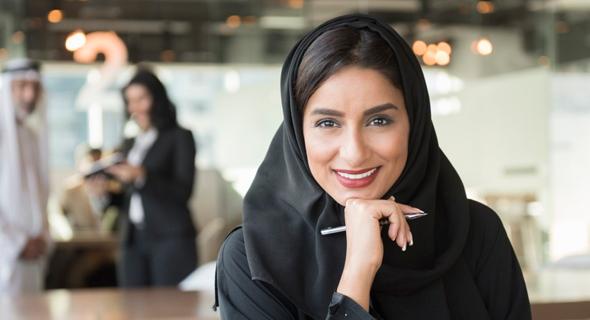 אשת עסקים באיחוד האמירויות