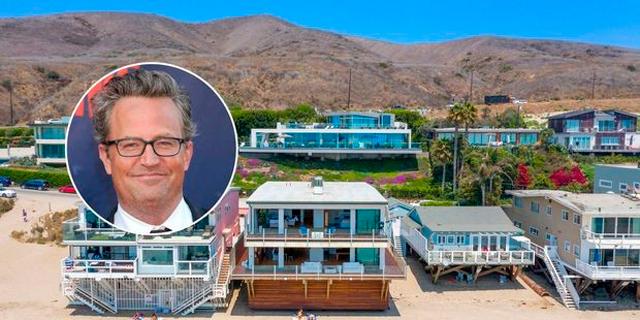 מת'יו פרי מוכר את הבית במליבו ב-15 מיליון דולר