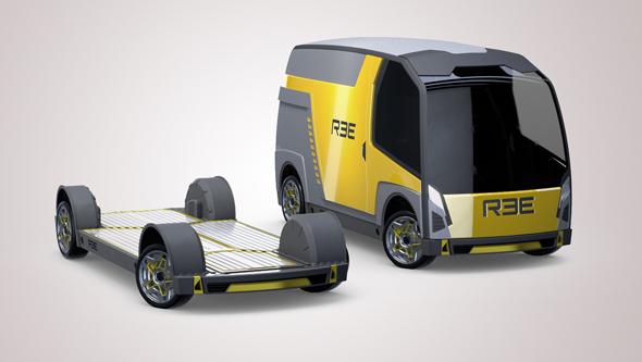 הפלטפורמה של REE ורכב מסחרי שיתבסס עליה
