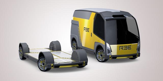 הפלטפורמה של REE ורכב מסחרי שיתבסס עליה , צילום: יובל חן