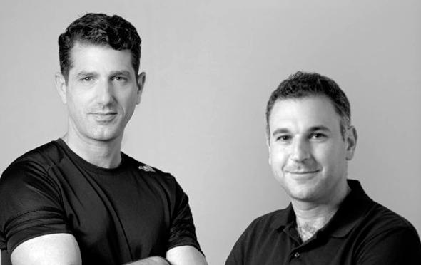 REE Automotive founders Daniel Barel (left) and Ahishay Sardes. Photo: Yuval Chen