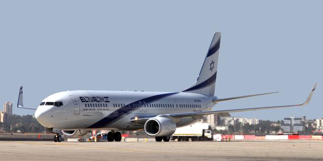 מטוס אל על באבו דאבי, צילום: סיון פרג