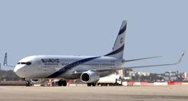 מטוס אל על, צילום: סיון פרג'