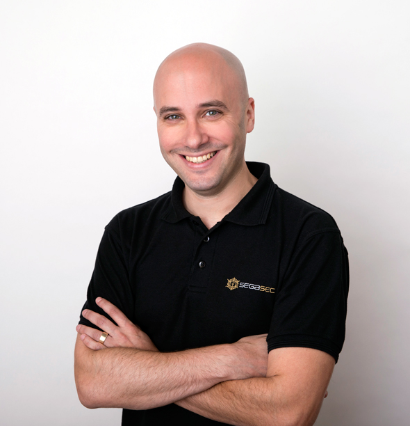 Segasec CEO Elad Schulman. Photo: PR