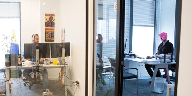 IncrediBuild's office. Photo: IncrediBuild