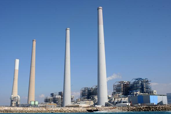 תחנת הכוח אורות רבין. תושבי הסביבה התלוננו על זיהום שהיא מייצרת