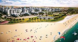 רובע הים חדרה זירת הנדלן , הדמיה: לייטרסדורף-בן דיין אדריכלים ומתכנני ערים