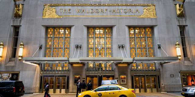 The Waldorf Astoria in New York City. Photo: Getty Images