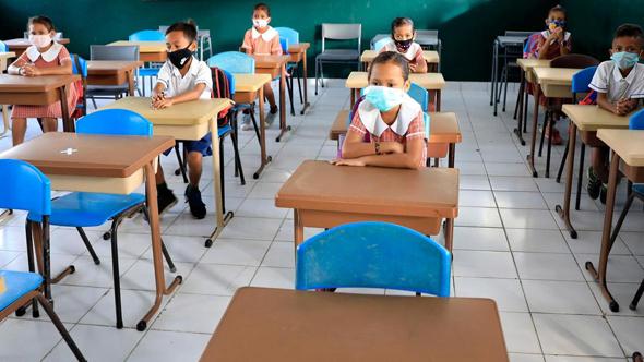 בית ספר באבו דאבי , צילום: EPA