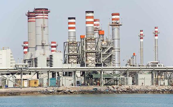 מפעל התפלת המים ג'בל עלי בדובאי