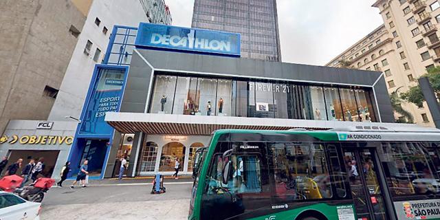 טופ סנטר. המרכז המסחרי של גזית גלוב בסאו פאולו , צילום: גוגל סטריט וויו