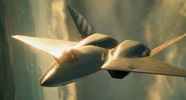 הקברניט מטוס ניסוי YF23 , צילום: Ace Combat 7