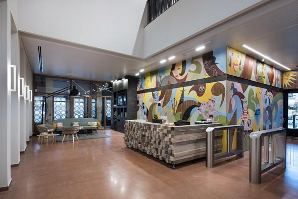 משרדי Fiverr פייבר, צילום: עמית גושר