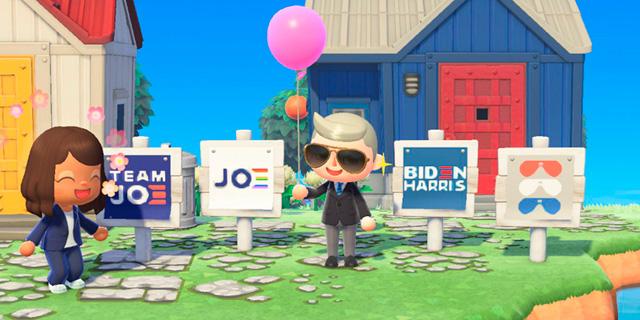 ג'ו ביידן לא פוסח על הגיימרים: משיק קמפיין בתוך המשחק Animal Crossing