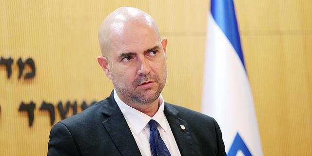 אמיר אוחנה, השר לביטחון פנים, צילום: אלכס קולומויסקי