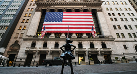 וול סטריט NYSE בורסת ניו יורק קורונה, צילום: רויטרס