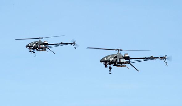 MultiFlyer in action. Photo: Israel Aerospace Industries
