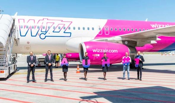 חנוכת המטוס הראשון של חברת התעופה וויז אבו דאבי