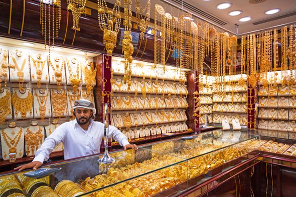 שוק זהב בדובאי
