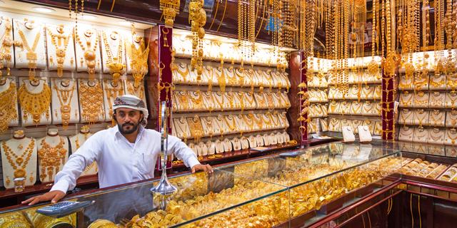 שוק זהב בדובאי, צילום: שאטרסטוק